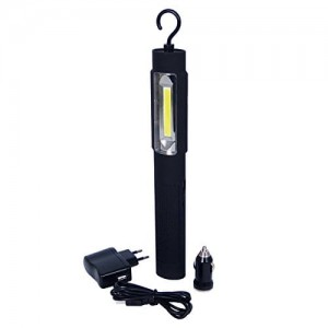 LAMPA LATARKA DIODOWA COB LED 3W 3w1 + USB POWER BANK